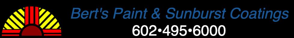 Bert's Paint Payments