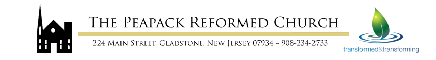 The Peapack Reformed Church Online Payment